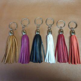 Porte clés pompon