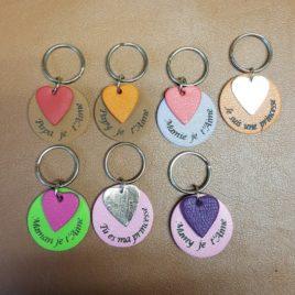 Porte clés à personnaliser