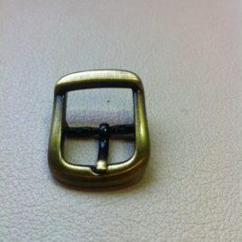 Boucle vieux laiton 25mm  (2 pièces)